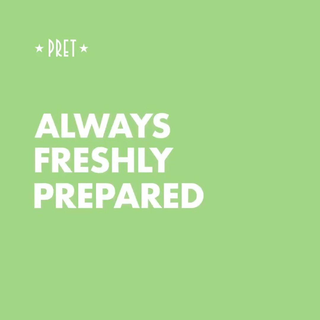 Always Freshly Prepared